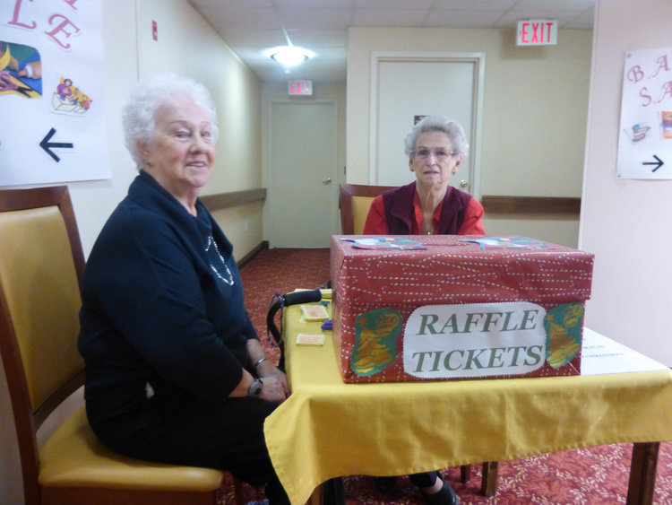 Charity activities at Queens Avenue Retirement Residence