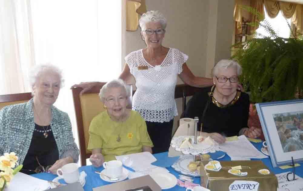 Senior citizens enjoying at Queens Avenue Retirement Residence, Oakville