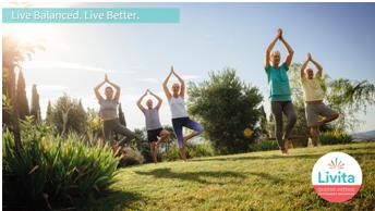 Queens Avenue Residents Meditating Outdoor Yoga